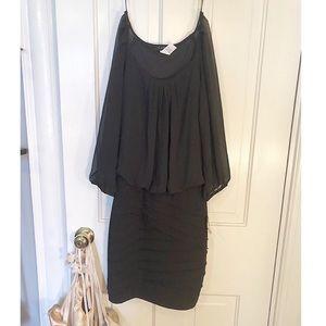 NWT Black dress from Macy's